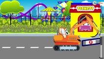 Bajki Dla Dzieci - Holownik i Animacje dla dzieci | Samochody bajka o maszynach dla dzieci