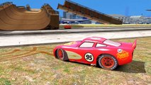 Spiderman Meca Spiderman Flash McQueen Disney Cars 2 Pixar | Dessin animé en Francais