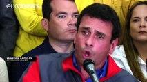 """La oposición venezolana tilda de """"golpe de Estado"""" la suspensión del proceso del referéndum revocatorio contra Maduro"""