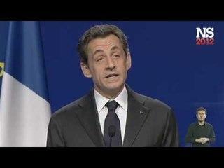 Discours de Nicolas Sarkozy à Bordeaux