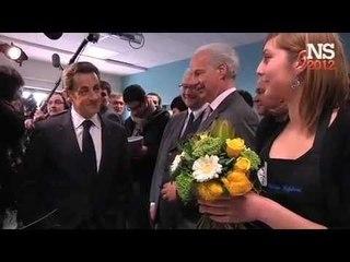 Souvenir de jeunesse pour N. Sarkozy parmi les apprentis fleuristes au CFA du Virolois de Tourcoing