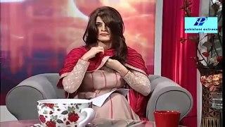 morning masala host amna visible bra