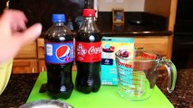 Gummy Soda Coke and Pepsi ❤ How to Make Coca Cola & Pepsi Gummy Soda Candy Bottles Fun DIY Dessert