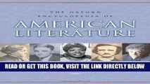 [Free Read] The Oxford Encyclopedia of American Literature: 4 volumes: print and e-reference
