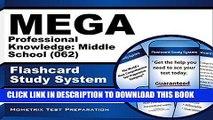 Read Now MEGA Professional Knowledge: Middle School (062) Flashcard Study System: MEGA Test