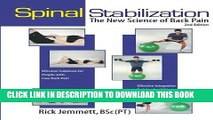 Ebook Spinal Stabilization: The New Science of Back Pain, 2nd Edition (8596-2) Free Read