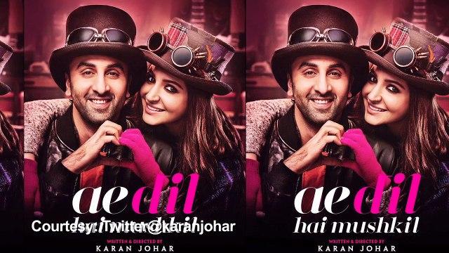 Kapoors RUN AWAY From 'Ae Dil Hai Mushkil' Query