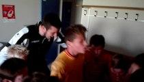 Célébration de la victoire U13 6-0 contre Darnetal