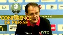 Conférence de presse Tours FC - Valenciennes FC (4-1) : Fabien MERCADAL (TOURS) - Faruk HADZIBEGIC (VAFC) - 2016/2017