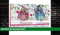"""FREE DOWNLOAD  """"Inspiring Moments"""": Inspirational Adult Coloring Book  BOOK ONLINE"""