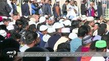 مسلمو ايطاليا يتظاهرون ضد غلق اماكن عبادتهم