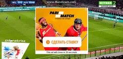 Miralem Pjanic Free Kick Chance - AC Milan vs Juventus - Serie A - 22/10/2016