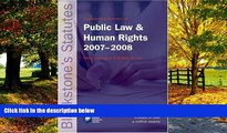Books to Read  Blackstone s Statutes on Public Law and Human Rights 2007-2008 (Blackstone s