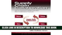 [Free Read] Supply Chain Collaboration: How to Implement CPFR and Other Best Collaborative
