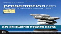 [Free Read] Presentation Zen: Simple Ideas on Presentation Design and Delivery (2nd Edition) Full