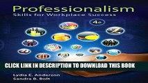 [Free Read] Professionalism: Skills for Workplace Success Plus NEW MyStudentSuccessLab -- Access
