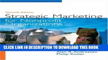 [Free Read] Strategic Marketing for Non-Profit Organizations (7th Edition) Full Download