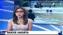 Diguyur Hujan Jakarta Kembali Terendam Banjir