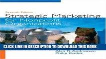 [Free Read] Strategic Marketing for Non-Profit Organizations (7th Edition) Free Online