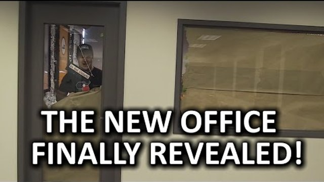 THE BIG REVEAL - Extreme Tech Office Makeover Pt. 2