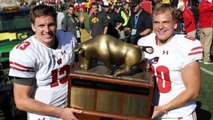 Potrykus: 2 QB's Lead Badgers to Victory