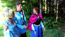 Are Frozen Elsa & Spiderman BREAKING UP- w_ Maleficent Joker Hulk Spidergirl Anna Toys Superhero IRL - YouTube