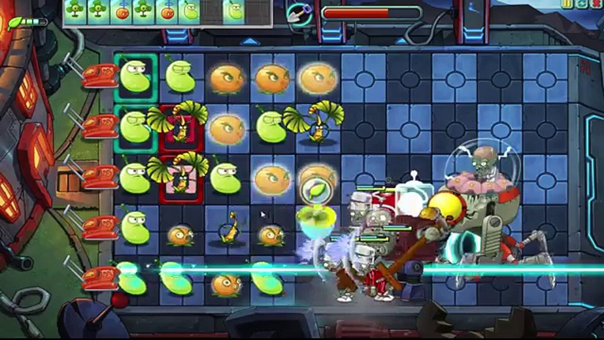 Plants Vs Zombies Online: Final Boss Zombot Boss Farfuture