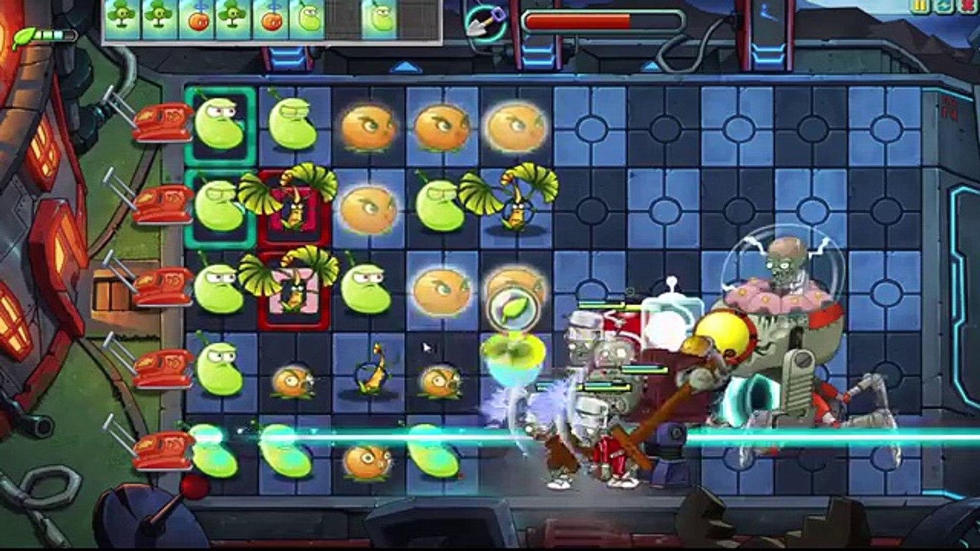 Plants Vs Zombies Online: Final Boss Zombot Boss Farfuture