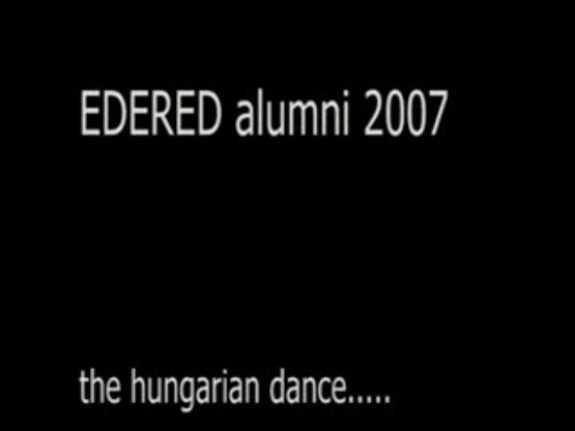 [EDERED-Future] - Hungarian dance