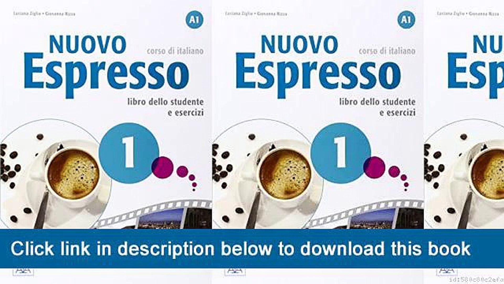 espresso 1 corso di italiano free download