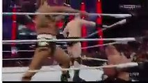 Roman Reigns Saves john Cena & Usos from Rusev & Sheamus