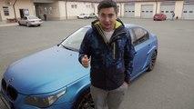Бимер 2 BMW M5: Сколько же было ДТП? Осталась ли еще мощность? Жив ли еще кузов? [Жорик Ревазов]