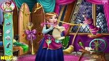 Anna Tailor for Elsa - Baby Videos Games For Kids  #Kidsgames #Barbiegames