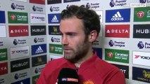 Chelsea vs Manchester United 4-0 Juan Mata Post Match interview 23.10.2016 HD