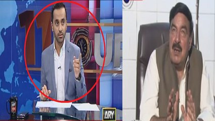 Sheikh Rasheed Was Unaware that Camera is on While he Was Speaking