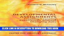 [Ebook] Developmental Assignments: Creating Learning Experiences Without Changing Jobs (CCL)