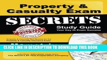 Read Now Property   Casualty Exam Secrets Study Guide: P-C Test Review for the Property   Casualty