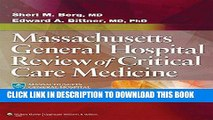 Read Now Massachusetts General Hospital Review of Critical Care Medicine PDF Online