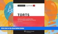 Big Deals  Casenote Legal Briefs: Torts, Keyed to Goldberg, Sebok,   Ziprusky, Third Edition  Best