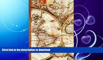 READ BOOK  Travel Notebook: Gifts / Gift / Presents ( Ruled Traveler s Notebook with Antique Map
