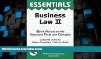 Big Deals  Business Law II Essentials (Essentials Study Guides)  Best Seller Books Most Wanted
