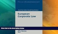 Big Deals  European Corporate Law  Best Seller Books Best Seller