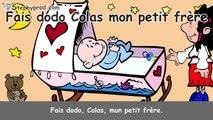 Fais Dodo Colas mon petit frère, dessin animé de la berceuse pour bébé