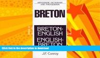 READ  Breton-English/English-Breton: Dictionary and Phrasebook FULL ONLINE