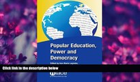 Choose Book Popular Education, Power and Democracy: Swedish Experiences and Contributions