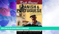 FAVORITE BOOK  Rick Steves  Spanish and Portuguese Phrasebook and Dictionary (Rick Steves  Phrase