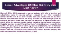 Advantages Of Office 365 Every User Must Know