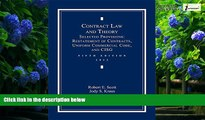 Books to Read  Contract Law and Theory: Selected Provisions: Restatement of Contracts and Uniform