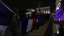 Manifestation des policiers sur la place Stanislas à Nancy