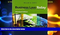 Big Deals  Business Law Today, Standard Edition (Available Titles CengageNOW)  Best Seller Books